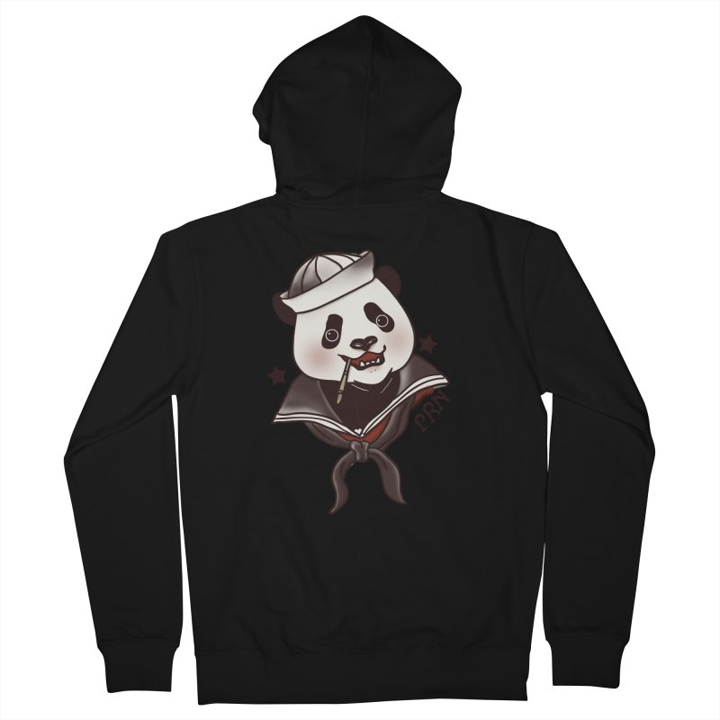 Panda Revolution EXTRA 2 A Women's French Terry Zip-Up Hoody by xiaobaosg
