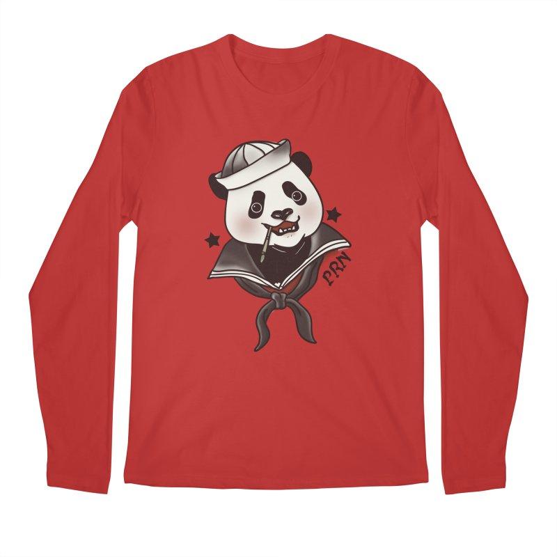 Panda Revolution EXTRA 2 A Men's Longsleeve T-Shirt by xiaobaosg
