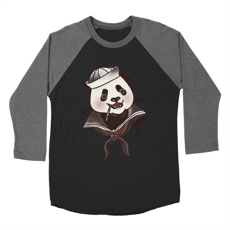 Panda Revolution EXTRA 2 A Men's Baseball Triblend T-Shirt by xiaobaosg