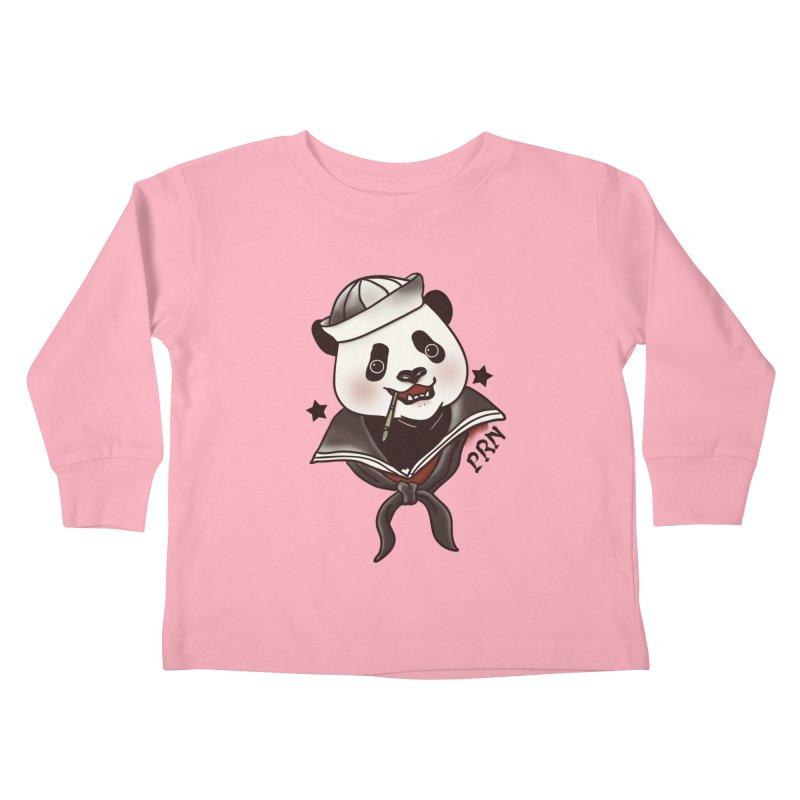 Panda Revolution EXTRA 2 A Kids Toddler Longsleeve T-Shirt by xiaobaosg