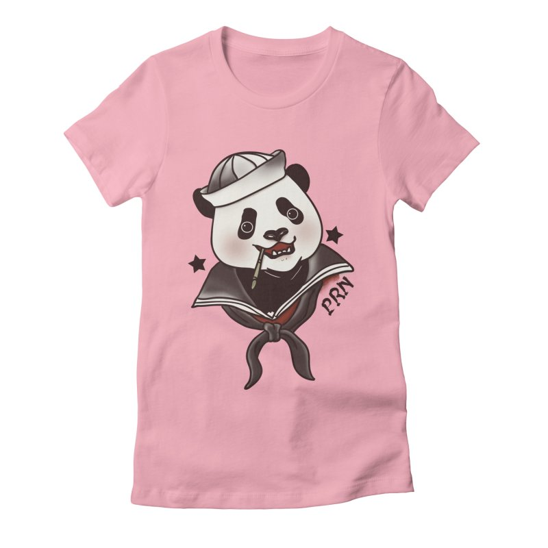 Panda Revolution EXTRA 2 A Women's Fitted T-Shirt by xiaobaosg