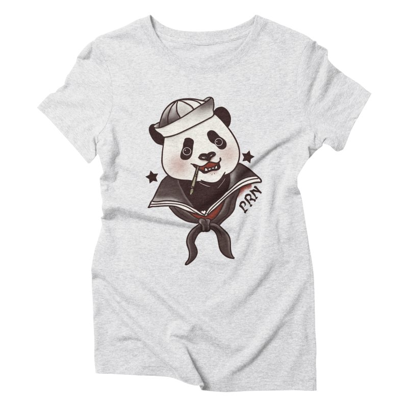 Panda Revolution EXTRA 2 A Women's Triblend T-Shirt by xiaobaosg