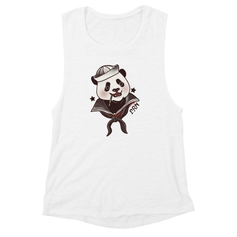 Panda Revolution EXTRA 2 A Women's Muscle Tank by xiaobaosg
