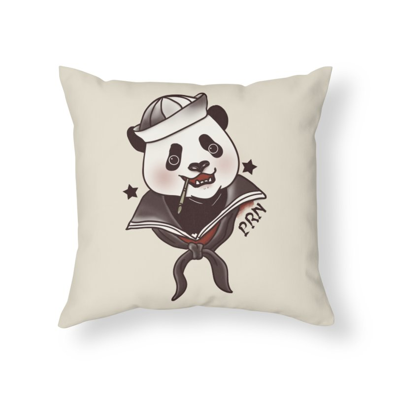 Panda Revolution EXTRA 2 A Home Throw Pillow by xiaobaosg