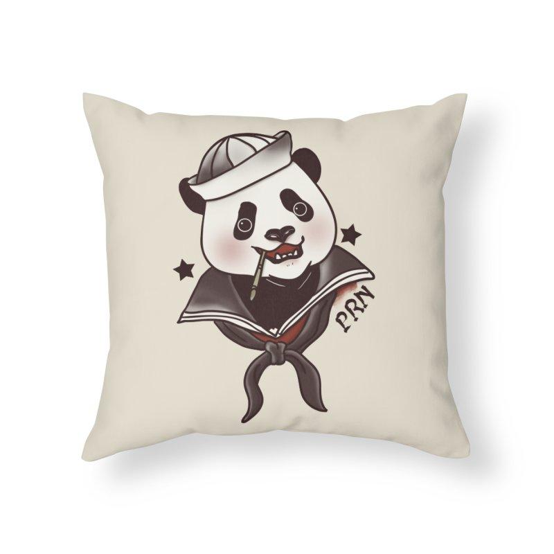 Panda Revolution EXTRA 2 A Home Throw Pillow by xiaobaosg