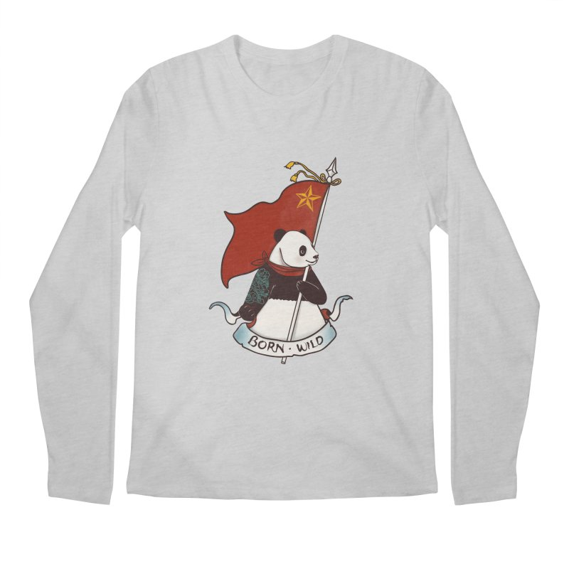 Panda Revolution EXTRA 2 B Men's Longsleeve T-Shirt by xiaobaosg