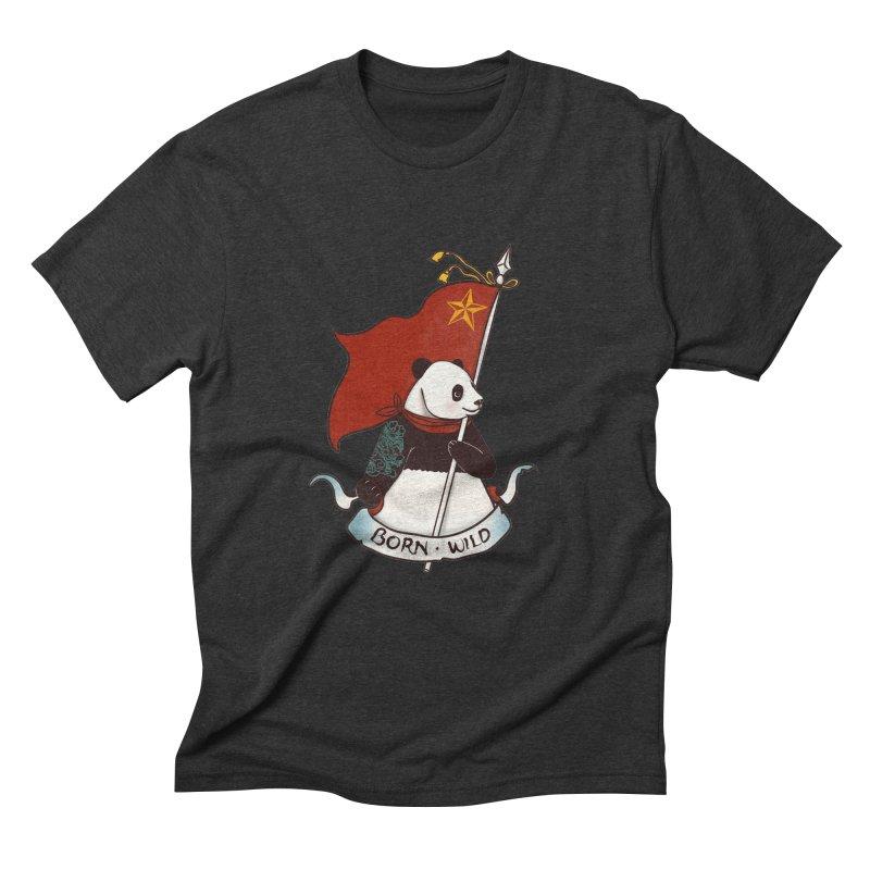 Panda Revolution EXTRA 2 B Men's Triblend T-Shirt by xiaobaosg