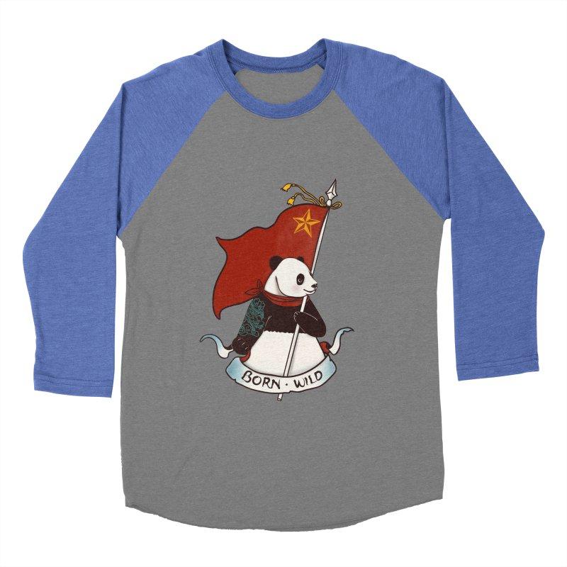 Panda Revolution EXTRA 2 B Women's Baseball Triblend T-Shirt by xiaobaosg