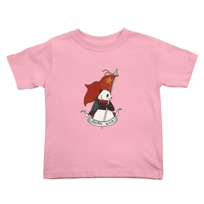 Panda Revolution EXTRA 2 B Kids Toddler T-Shirt by xiaobaosg