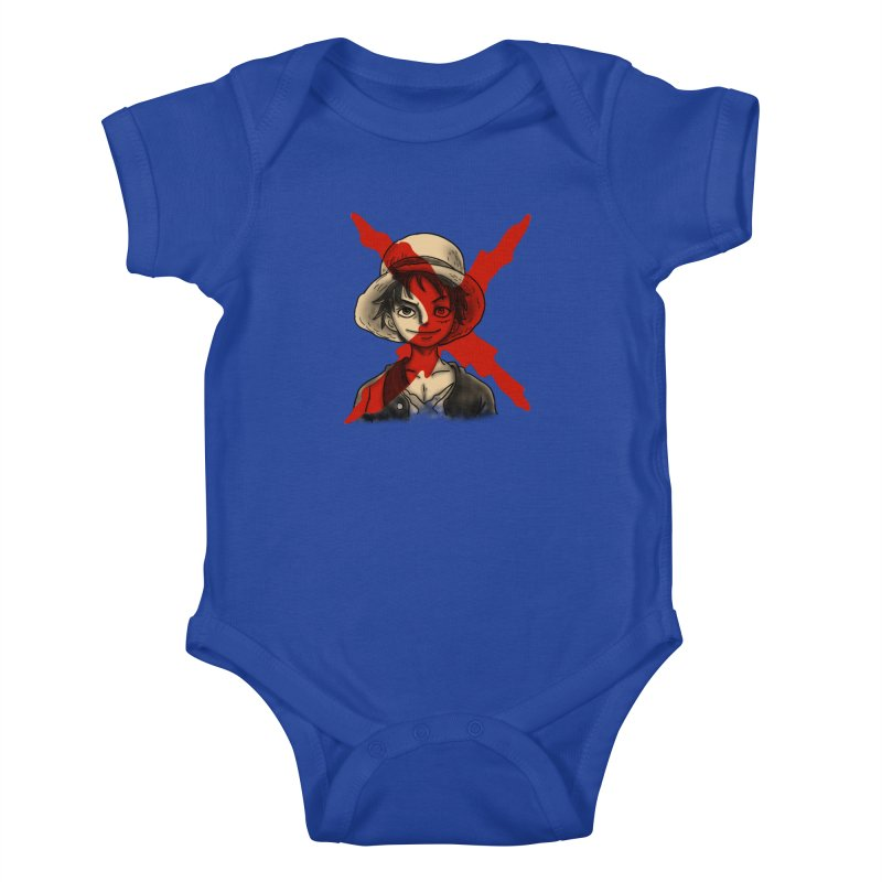 One Piece of Future Past Kids Baby Bodysuit by xiaobaosg