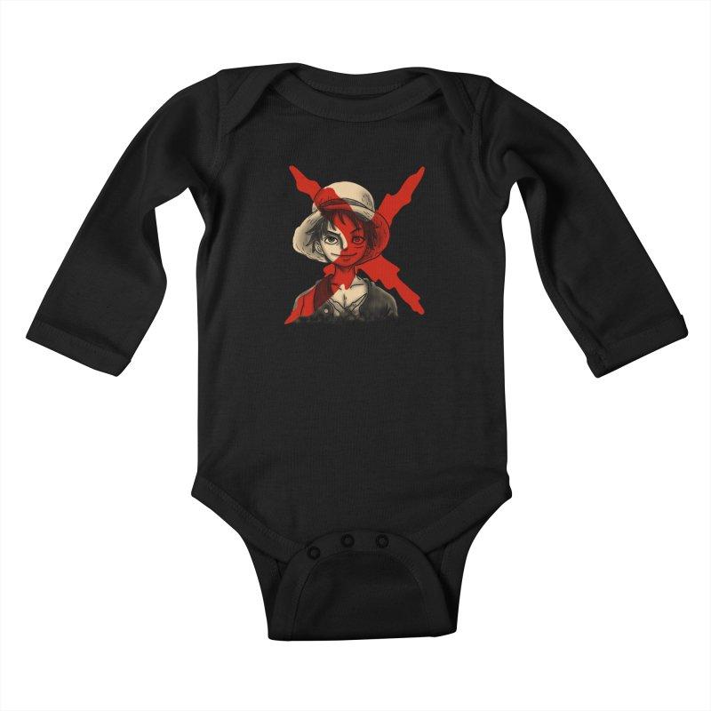 One Piece of Future Past Kids Baby Longsleeve Bodysuit by xiaobaosg