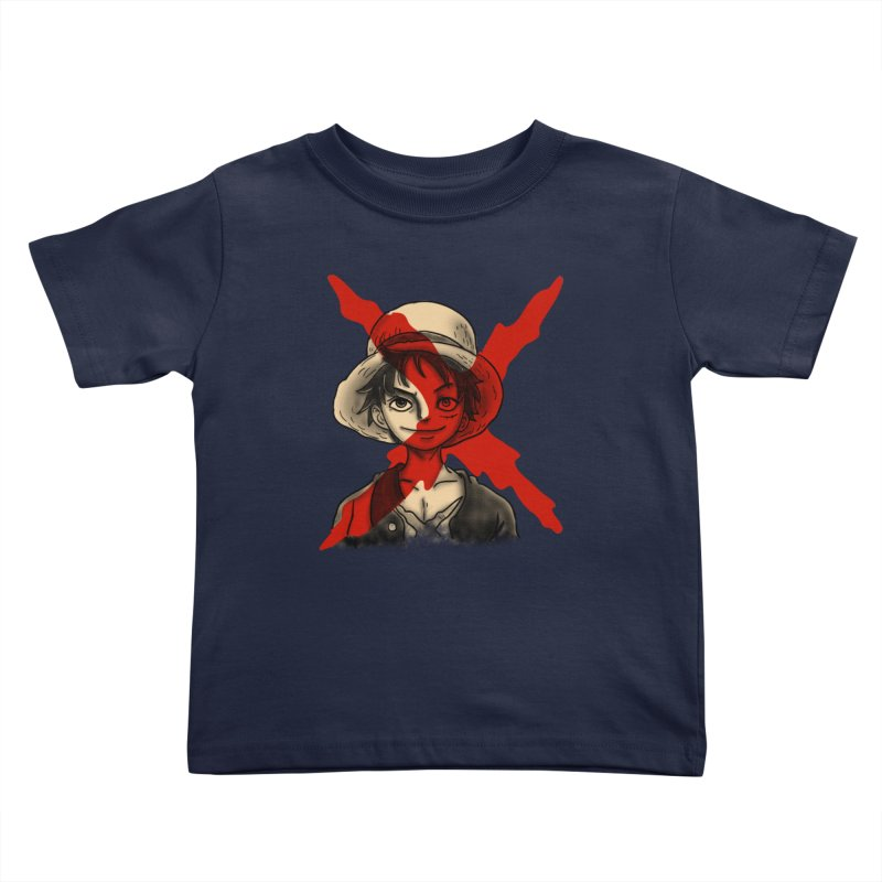 One Piece of Future Past Kids Toddler T-Shirt by xiaobaosg