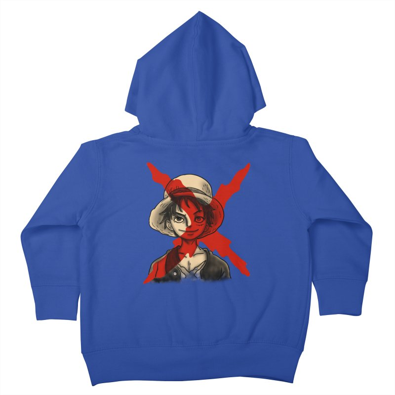 One Piece of Future Past Kids Toddler Zip-Up Hoody by xiaobaosg
