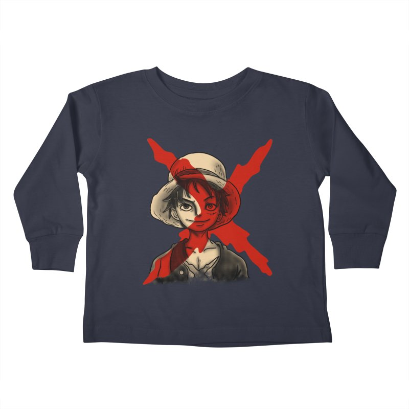 One Piece of Future Past Kids Toddler Longsleeve T-Shirt by xiaobaosg