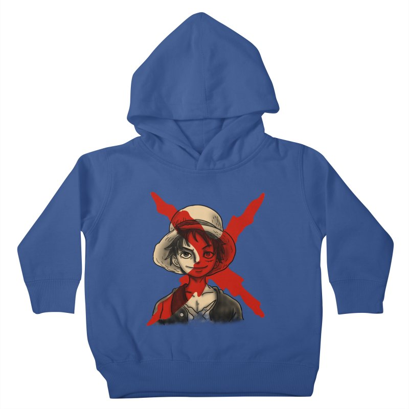 One Piece of Future Past Kids Toddler Pullover Hoody by xiaobaosg