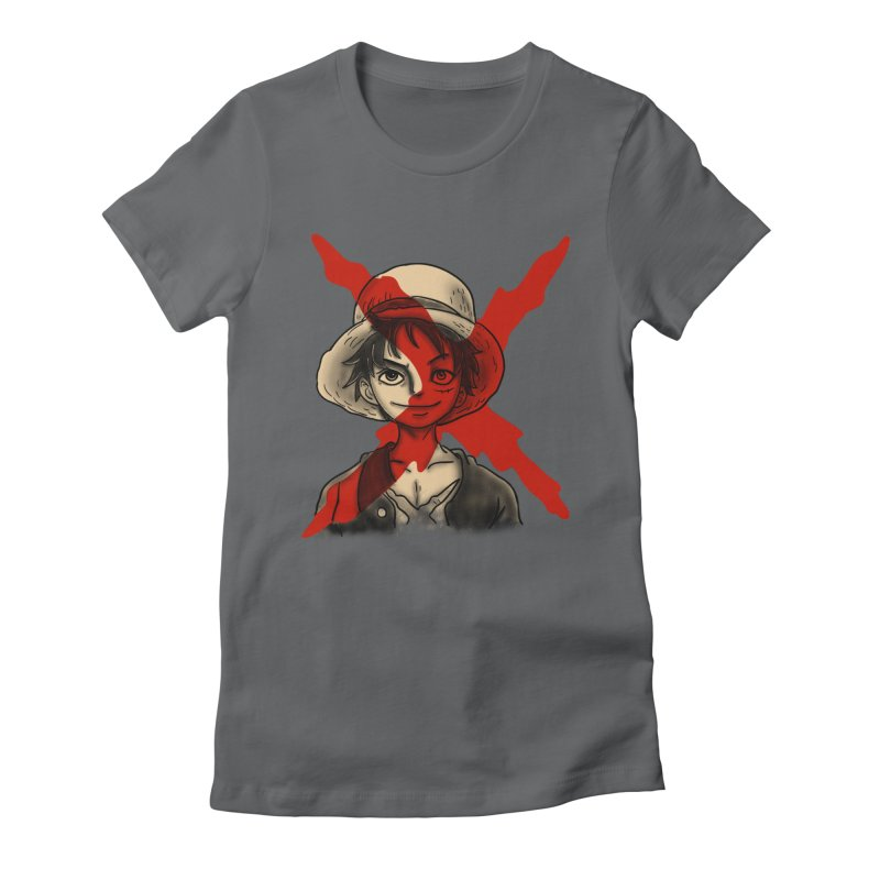 One Piece of Future Past Women's Fitted T-Shirt by xiaobaosg