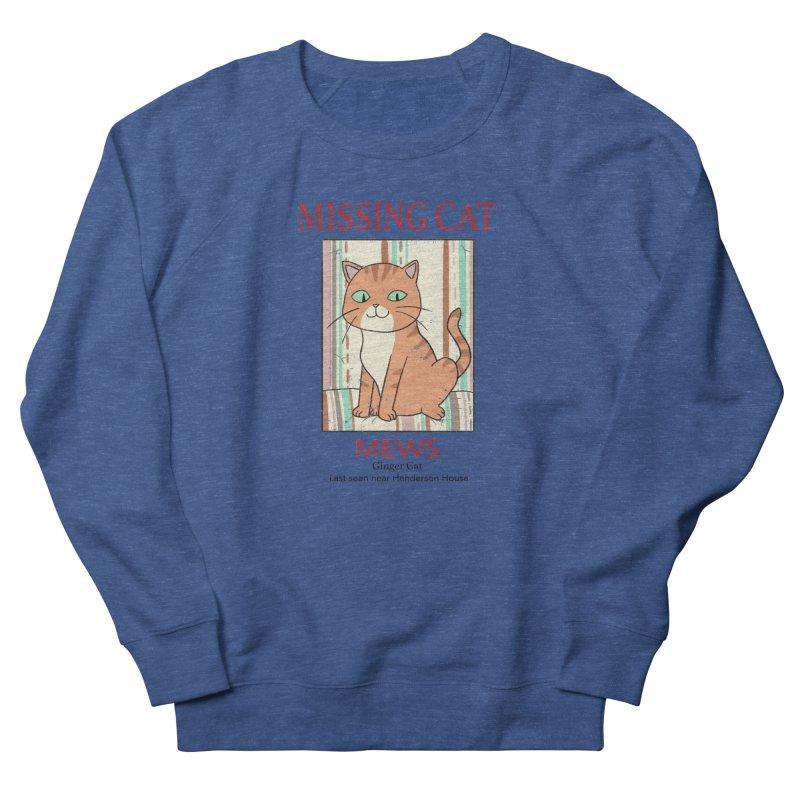 Mrs Henderson's Cat V2 Men's Sweatshirt by xiaobaosg