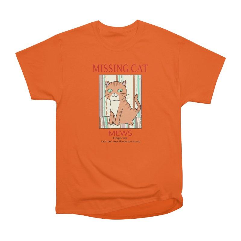 Mrs Henderson's Cat V2 Men's Classic T-Shirt by xiaobaosg