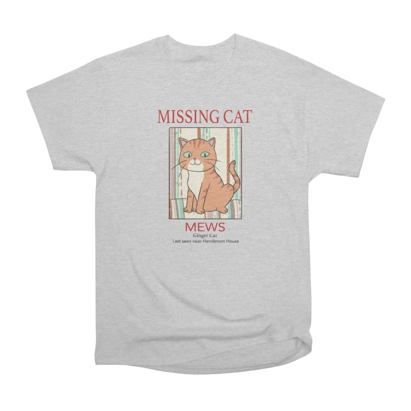 Mrs Henderson's Cat V2 Men's Heavyweight T-Shirt by xiaobaosg