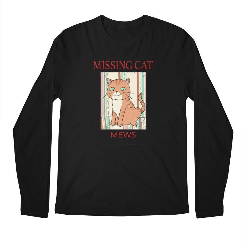 Mrs Henderson's Cat V2 Men's Regular Longsleeve T-Shirt by xiaobaosg