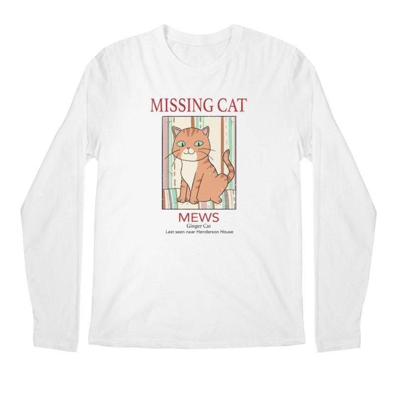 Mrs Henderson's Cat V2 Men's Longsleeve T-Shirt by xiaobaosg
