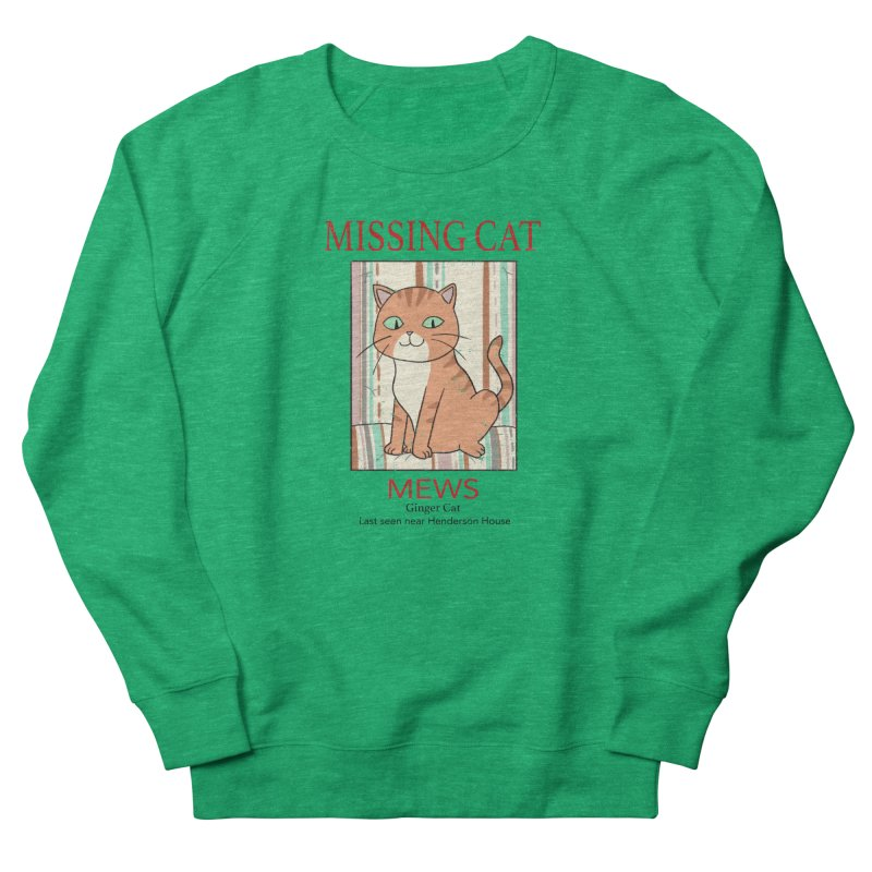 Mrs Henderson's Cat V2 Men's Sweatshirt by xiaobaosg