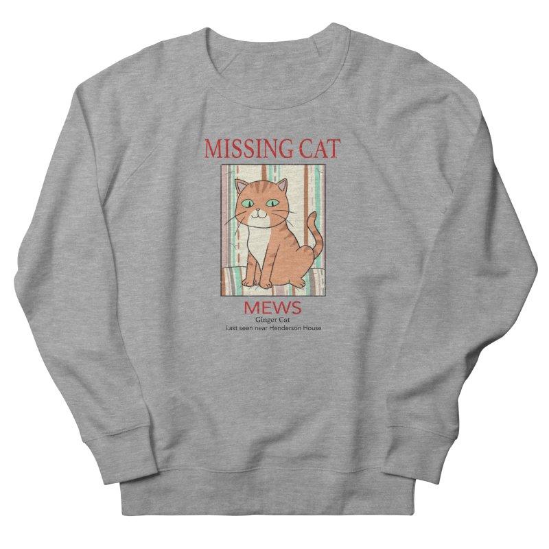 Mrs Henderson's Cat V2 Men's French Terry Sweatshirt by xiaobaosg