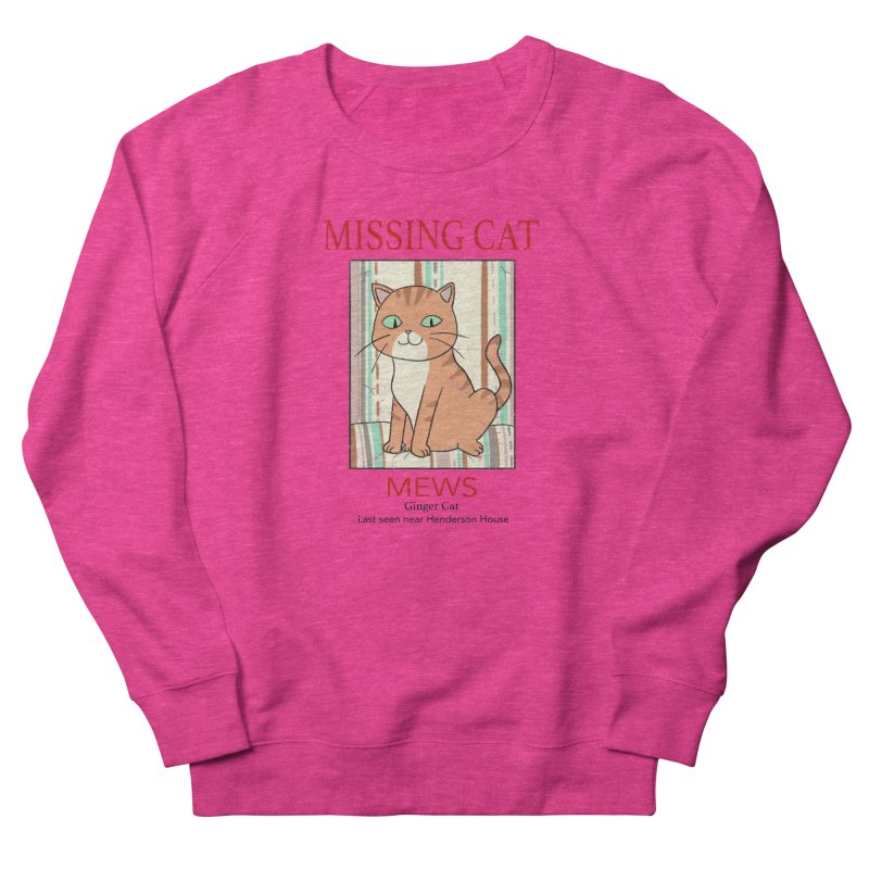 Mrs Henderson's Cat V2 Men's French Terry Sweatshirt by xiaobaosg