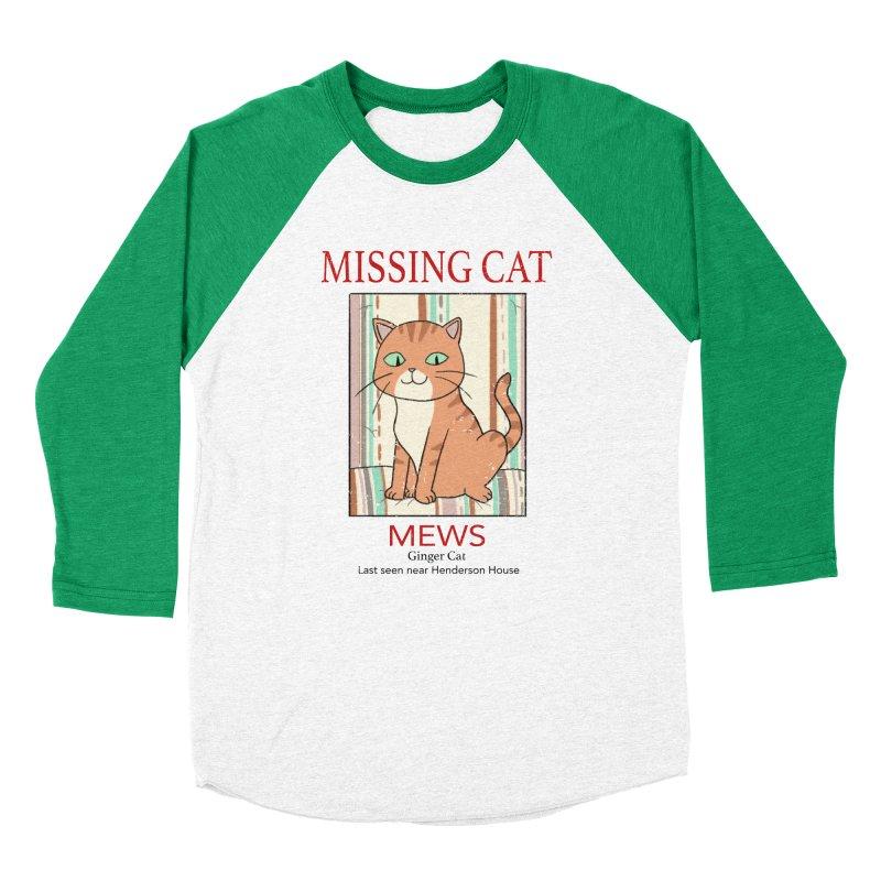 Mrs Henderson's Cat V2 Women's Baseball Triblend Longsleeve T-Shirt by xiaobaosg