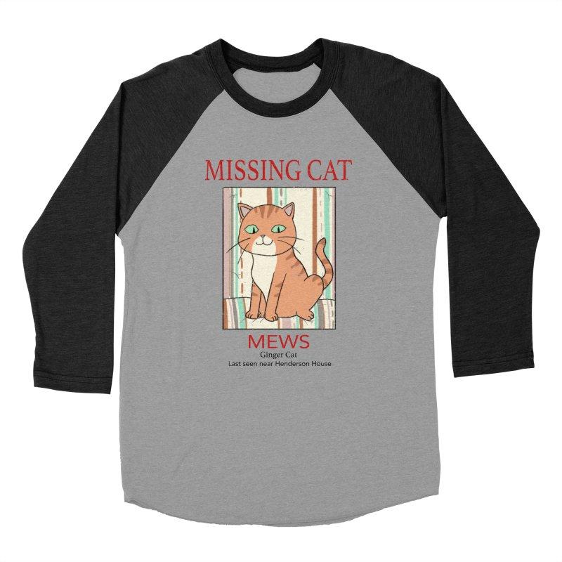 Mrs Henderson's Cat V2 Women's Baseball Triblend T-Shirt by xiaobaosg