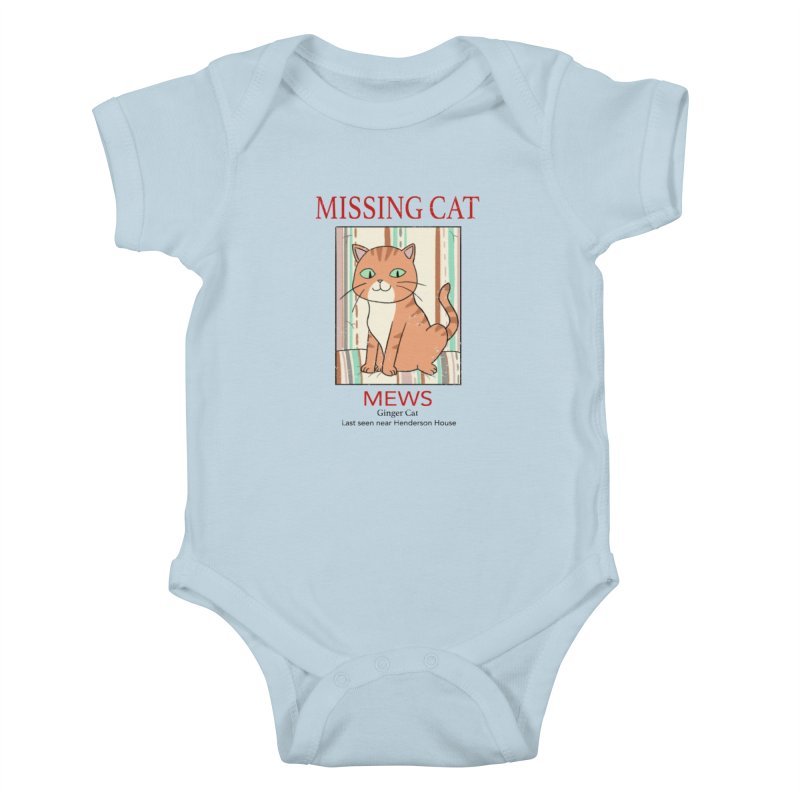 Mrs Henderson's Cat V2 Kids Baby Bodysuit by xiaobaosg