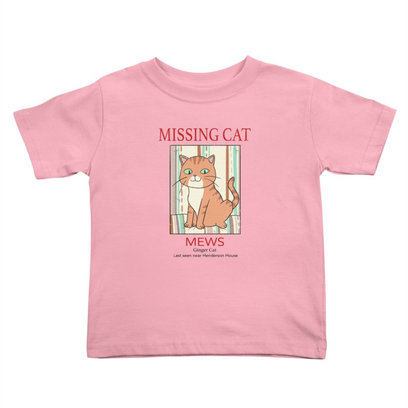 Mrs Henderson's Cat V2 Kids Toddler T-Shirt by xiaobaosg