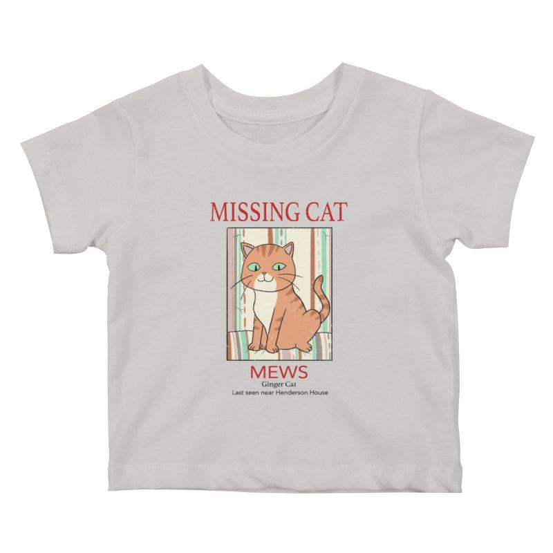 Mrs Henderson's Cat V2 Kids Baby T-Shirt by xiaobaosg