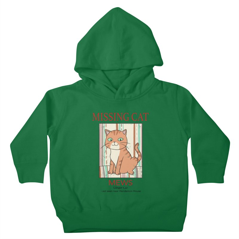 Mrs Henderson's Cat V2 Kids Toddler Pullover Hoody by xiaobaosg