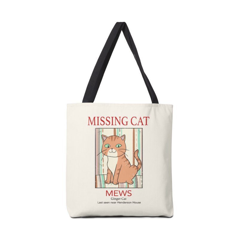Mrs Henderson's Cat V2 Accessories Bag by xiaobaosg