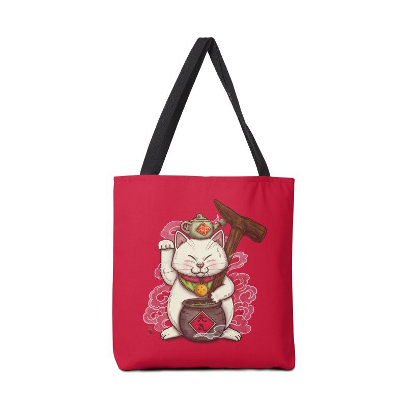 Maneki Senbyo Accessories Bag by xiaobaosg