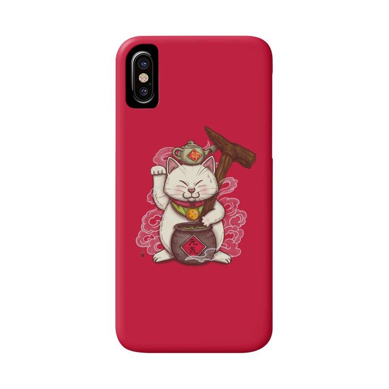 Maneki Senbyo Accessories Phone Case by xiaobaosg