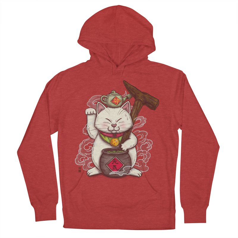 Maneki Senbyo Men's French Terry Pullover Hoody by xiaobaosg