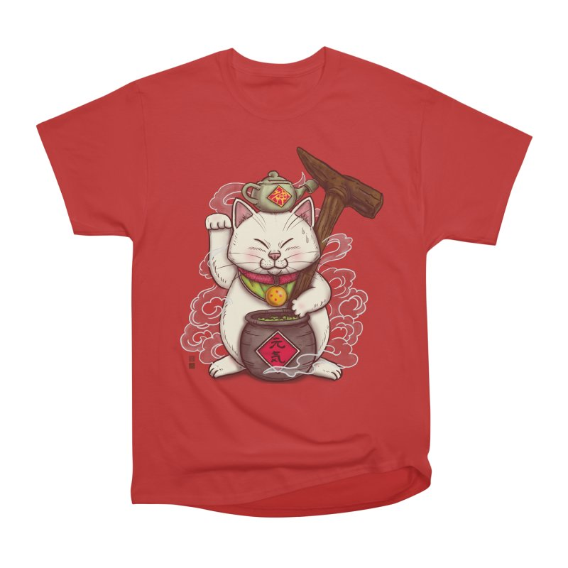 Maneki Senbyo Men's Heavyweight T-Shirt by xiaobaosg