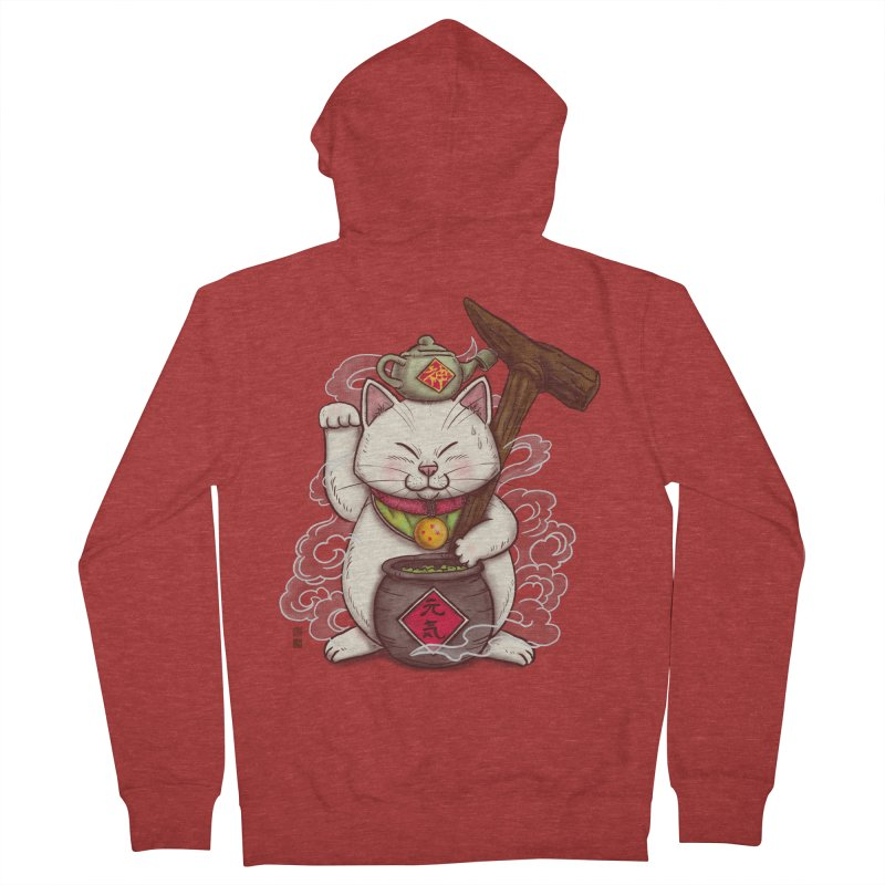 Maneki Senbyo Women's Zip-Up Hoody by xiaobaosg