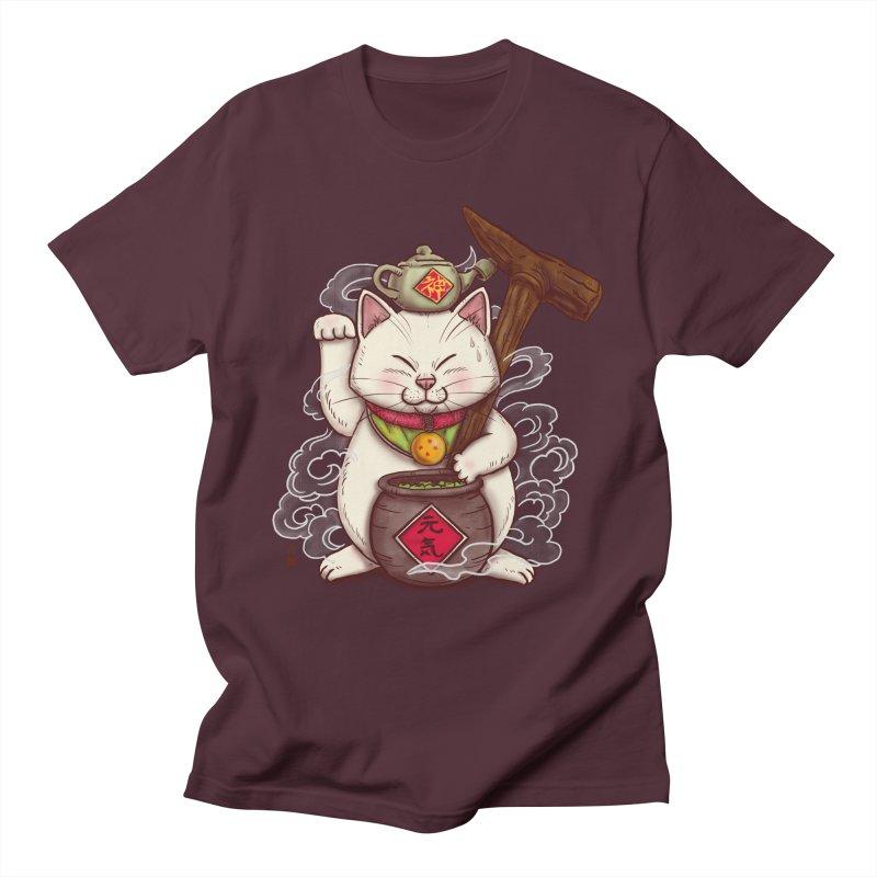 Maneki Senbyo Men's Regular T-Shirt by xiaobaosg