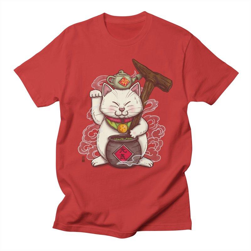 Maneki Senbyo Men's T-Shirt by xiaobaosg