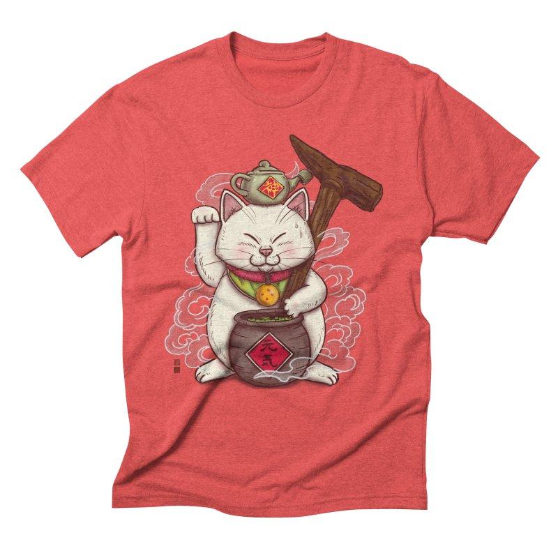 Maneki Senbyo Men's Triblend T-Shirt by xiaobaosg