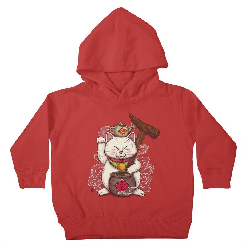 Maneki Senbyo Kids Toddler Pullover Hoody by xiaobaosg