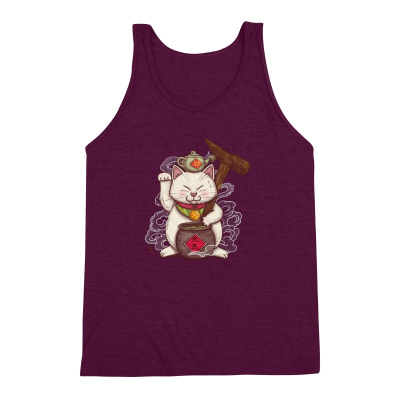 Maneki Senbyo Men's Triblend Tank by xiaobaosg