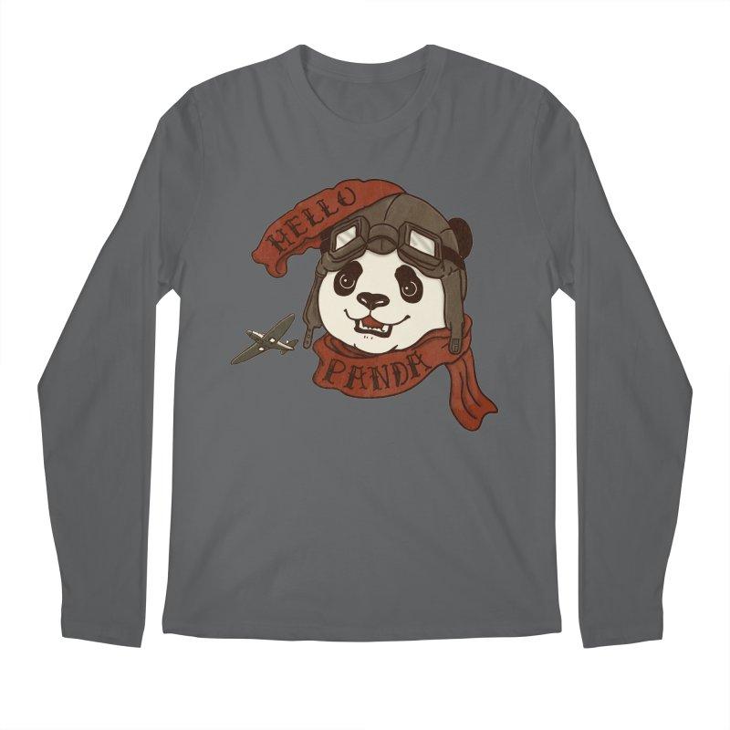 Panda Revolution EXTRA 2 C Men's Regular Longsleeve T-Shirt by xiaobaosg