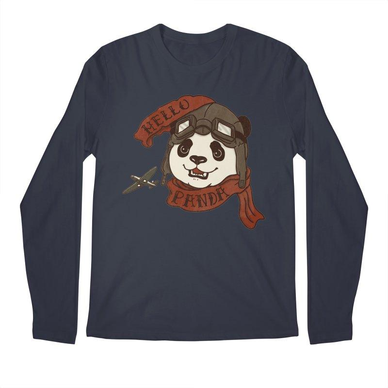 Panda Revolution EXTRA 2 C Men's Longsleeve T-Shirt by xiaobaosg