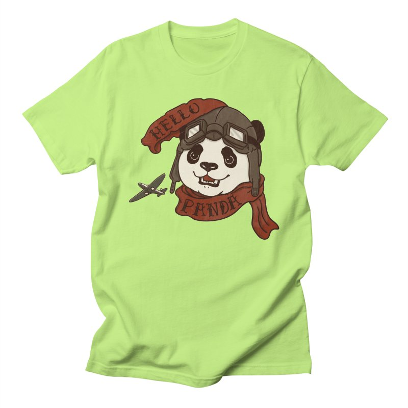 Panda Revolution EXTRA 2 C Women's Regular Unisex T-Shirt by xiaobaosg