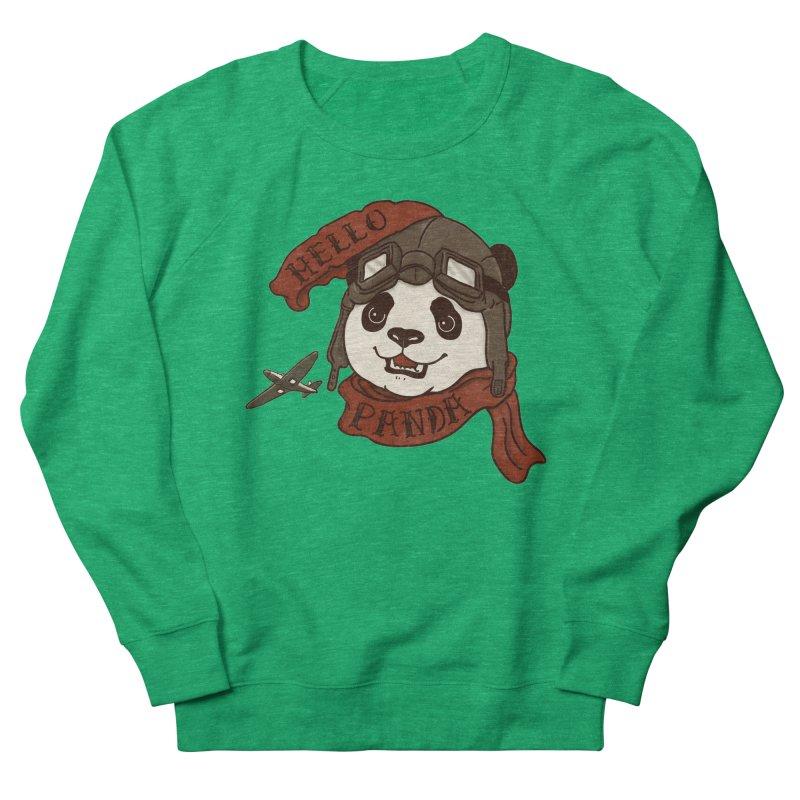 Panda Revolution EXTRA 2 C Women's French Terry Sweatshirt by xiaobaosg