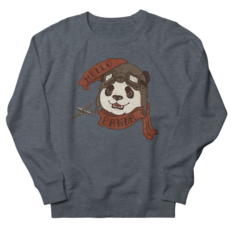 Panda Revolution EXTRA 2 C Men's French Terry Sweatshirt by xiaobaosg